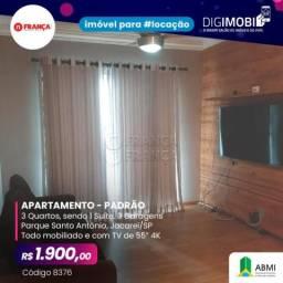Apartamento para alugar com 3 dormitórios em Parque santo antonio, Jacarei cod:L8376