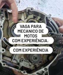 CONTRATO MECANICO DE MOTOS. COM EXPERIÊNCIA