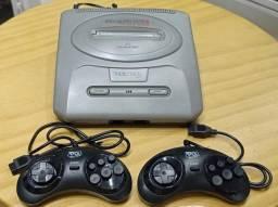 Título do anúncio: Mega Drive 3 com 2 Controles + 43 Jogos na memoria