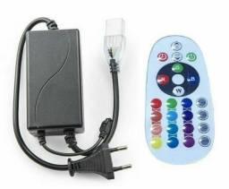Controle e Controladora para Mangueira LED RGB