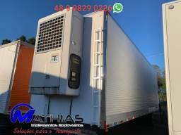 Camara 16 paletes 8.50 MT seminovo bi truck Mathias implementos