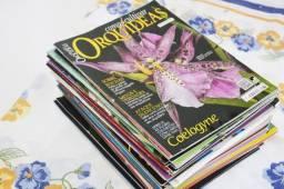 Coleção de revistas Como Cultivar Orquídeas