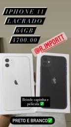 iPhones lacrado e vitrine
