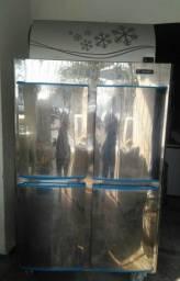 Refrigerador Inox Gelopar 575 litros com Garantia e Entrega no local
