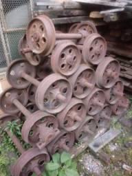 Rodas de ferro para vagonete