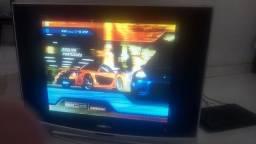 "Televisão Gradiente 29"" tela plana."