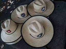 Chapéu de palha com forração MARCAS