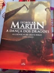 Livro a dança dos dragões livro cinco