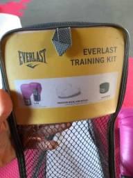 Luvas Everlast + Saco de pancadas Kallango Fit