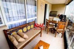 Apartamento com 4 dormitórios para alugar, 168 m² por R$ 8.000,00/mês - José Menino - Sant