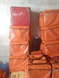 Motoboy bag lisa novas com isopor 45 litros
