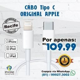 Título do anúncio: Cabo Tipo C lightning Original Apple  (Entrega Grátis )