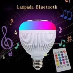 Título do anúncio: Luminária de LED Colorido Musical com Bluetooth Wireless 12W