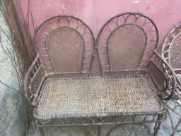 Cadeira namoradeira antiga