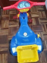Título do anúncio: Triciclo infantil velotrol tico tico