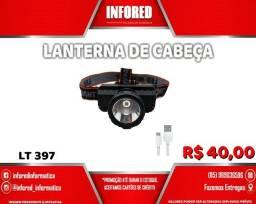 Lanterna de Cabeça- R$40,00