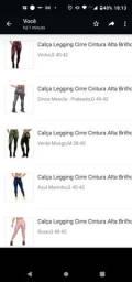 Título do anúncio: Calça legging cirre cintura alta