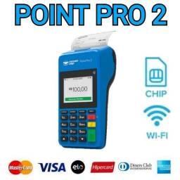 Título do anúncio: Maquininha de Cartão Point Pro 2 Mercado Pago Centro Curitiba Loja Oficial