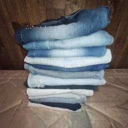 Lote 13 calças jeans Tam 36