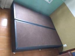Cama Queen (Box + Colchão)