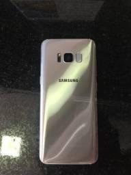 Samsung s8 edge com a tela quebrada