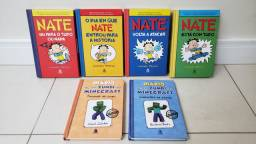 Livros infantis: Nate e Diario de um Zumbi do Minecraft