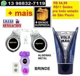 Kit 4 . Volumão, Alge-maas + 2 Brindes(1 Anel)