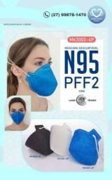 Máscaras PFF2 S/válvula N95 kit 20 unidades