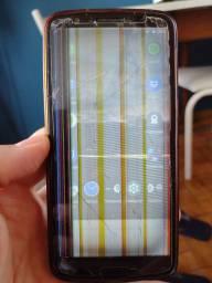Título do anúncio: Moto G6 usado funcionando