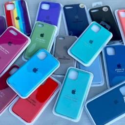 Capinhas case diversas cores iphone
