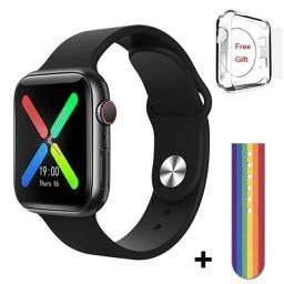 IWO11 Series 5 T500 Plus Smart Watch Men HD Touch Screen Heart Rate Bluetooth Call