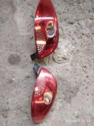 Lanterna traseira pegeout 207 Quik silver