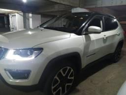 Jeep Compass Limited 2019 Diesel IPVA 2021 pg Com Teto Panorâmico