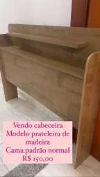 Título do anúncio: Cabeceira madeira