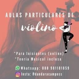 Título do anúncio: Aulas Particulares de Violino Online