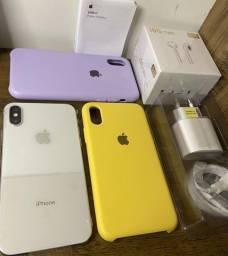 Título do anúncio: iPhone X 64Gb Com carregador turbo apple e acessórios