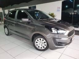 Lindo Ford Ka 1.0 SE 2019 Cinza !!!