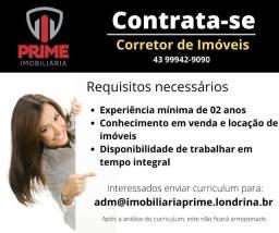Título do anúncio: Imobiliaria Prime Contrata Corretores