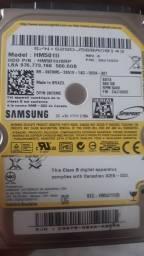 Título do anúncio: HD 500gb,  2,5'' para ps3 ps4 e note novo