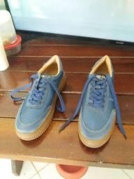 Tênis Feminino Azul Sneakers Sua Compania