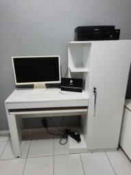 Título do anúncio: Escrivaninha com armário seminova