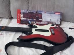 Título do anúncio: Guitarra para video game xbox 360