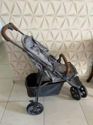 Carrinho de bebê - Moving light com couro - ABC design
