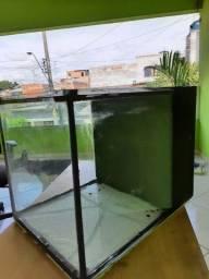 Aquário cubo com sump