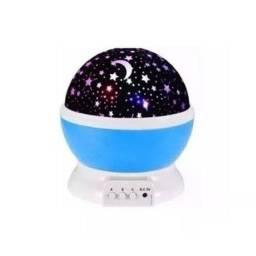 Título do anúncio: Luminária Projetor Estrela Abajur Universo Ceu 360 Luz