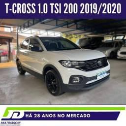 Título do anúncio: T-CROSS 2019/2020 1.0 200 TSI TOTAL FLEX AUTOMÁTICO