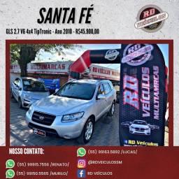 Hyundai Santa Fe GLS 2.7 V6 4x4TipTronic 2010 Gasolina