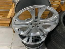 Título do anúncio: Rodas 17 5x100 pneus novos perfil baixo