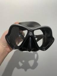 Máscara X Vision Mares Cinza com preto