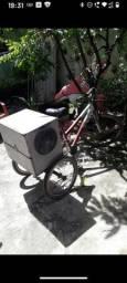 Bicicleta cargueira com som,barata!!!